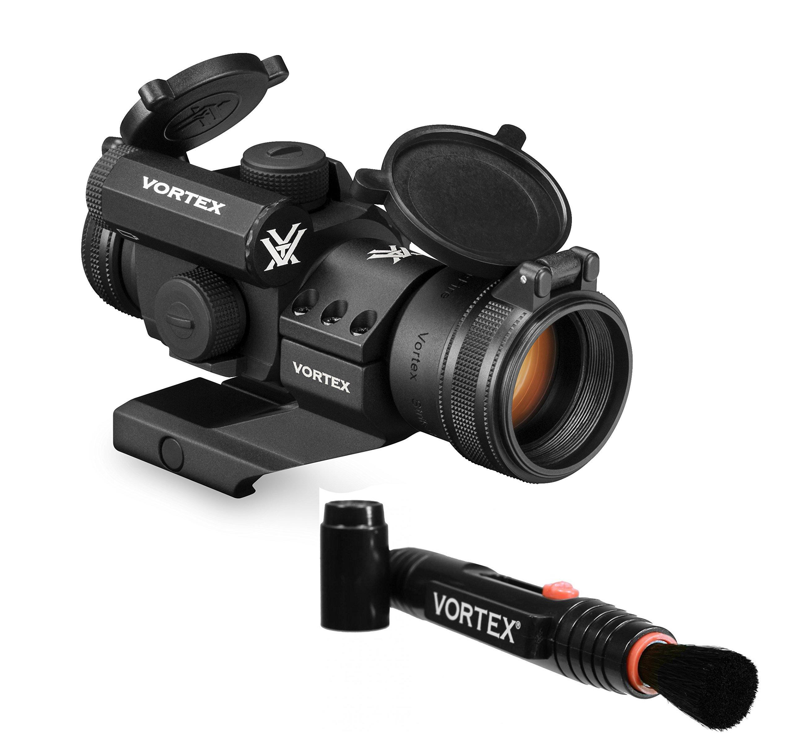 Vortex Optics StrikeFire 2 Red/Green Dot Sight with Cantilever Mount (SF-RG-501) and FREE Vortex Lens Pen by Vortex Optics