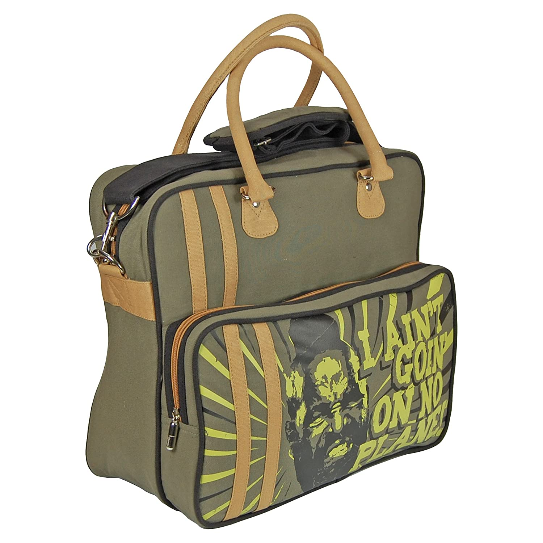 f28b18bcd924 Mr T Bag. I Aint Goin On No Plane Overnight Bag Pop-Art-