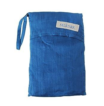 Silksak - Bolsa saco de dormir de seda para 2 personas (172 x 190 cm