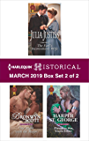 Harlequin Historical March 2019 - Box Set 2 of 2