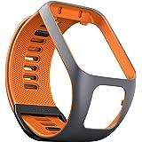 TomTom Spark GPS Fitness Watch Accessory Strap (Grey/Orange, Large)