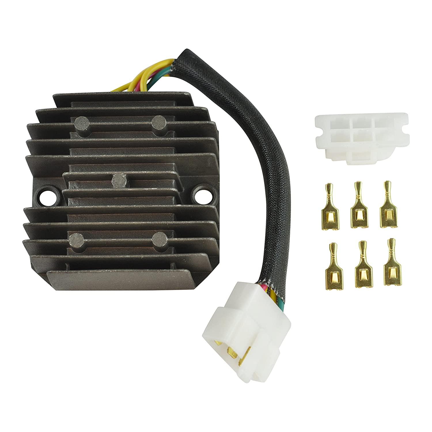 Voltage Regulator Rectifier For Polaris Sawtooth 200 And Circuit Motorcycle Free Electronic Phoenix 2005 2006 2007 2008 2009 2010 2011 2012 2013 2014 2015 2016 2017 Oem Repl