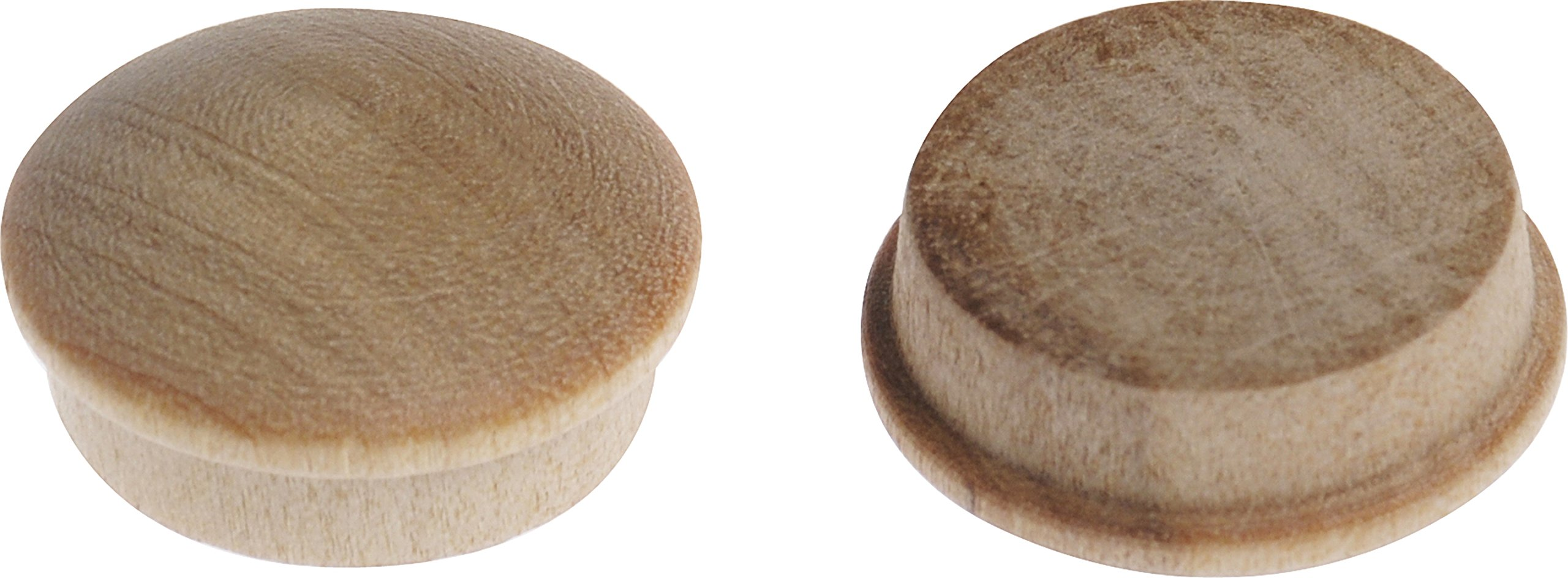 The Hillman Group 53017 Wooden Round Button, 3/4-Inch, 25-Pack