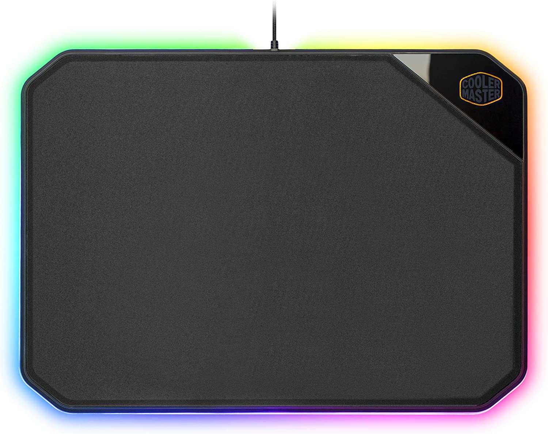 Mouse Pad Cooler Master MP860 RGB, doble cara, Negro