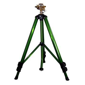 2wayz Impact Tripod Sprinkler  Water the Entire Lawn From