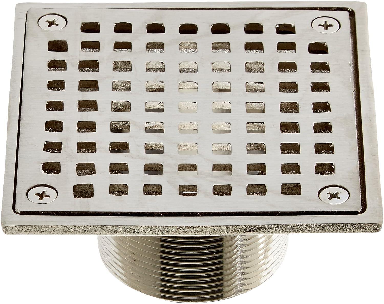 Jones Stephens D6091BN 3-1//2 X 5 Brushed Nickel Spud Strainer