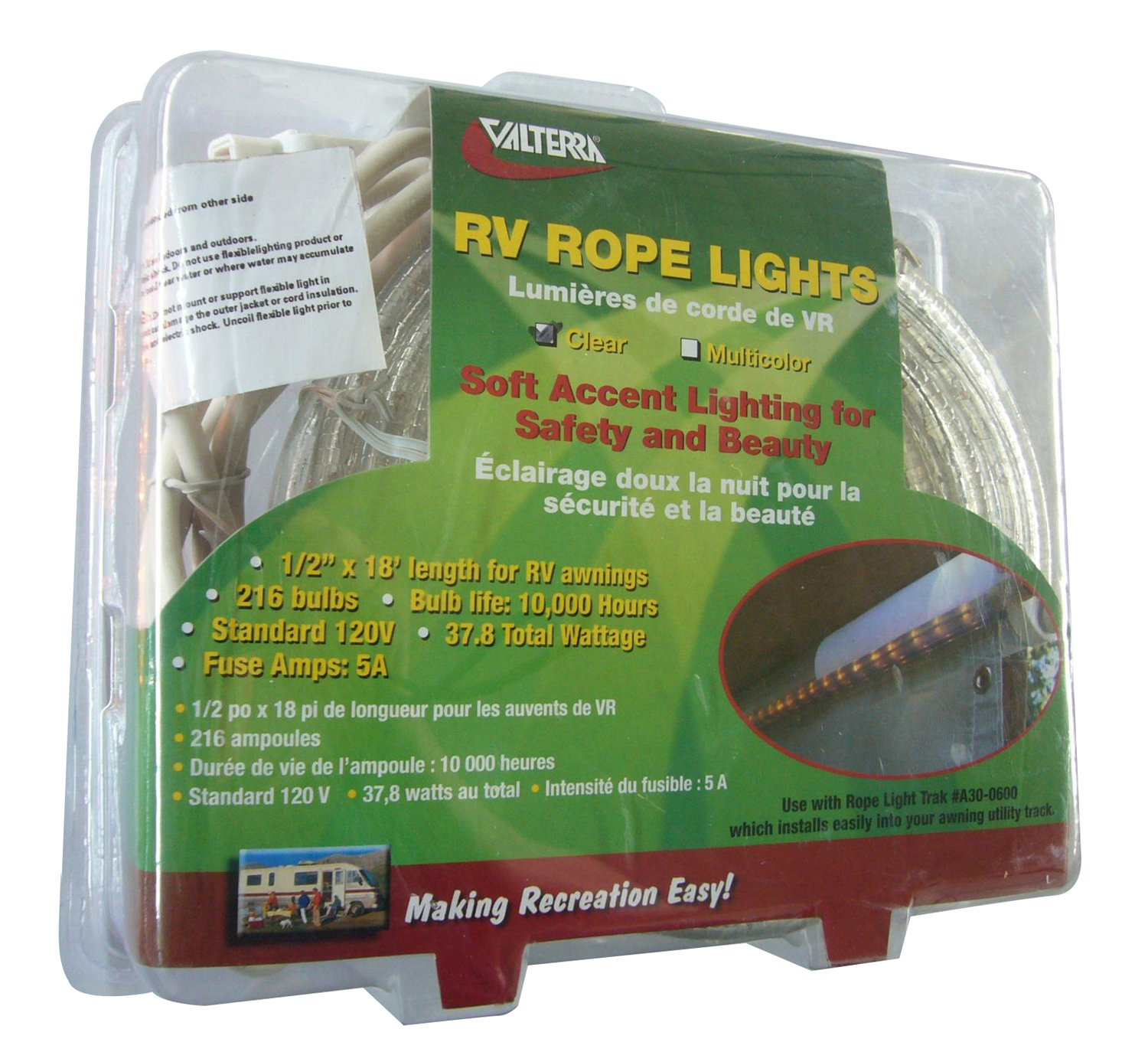 Amazon valterra 14589 rope lights 18 feet automotive mozeypictures Images