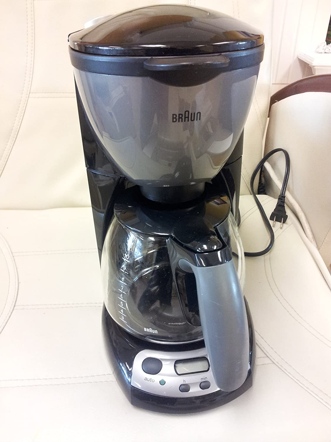 Braun AromaDeluxe 10 Cup Programmable Coffee Maker/Type 3105