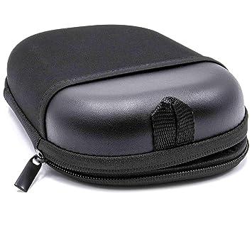 vhbw Estuche de Transporte Bolso Funda Negro para Auriculares Headset Bose QuietComfort 15, 25, 35, 35 II, QC15, QC25, QC35, QC35 II: Amazon.es: Electrónica