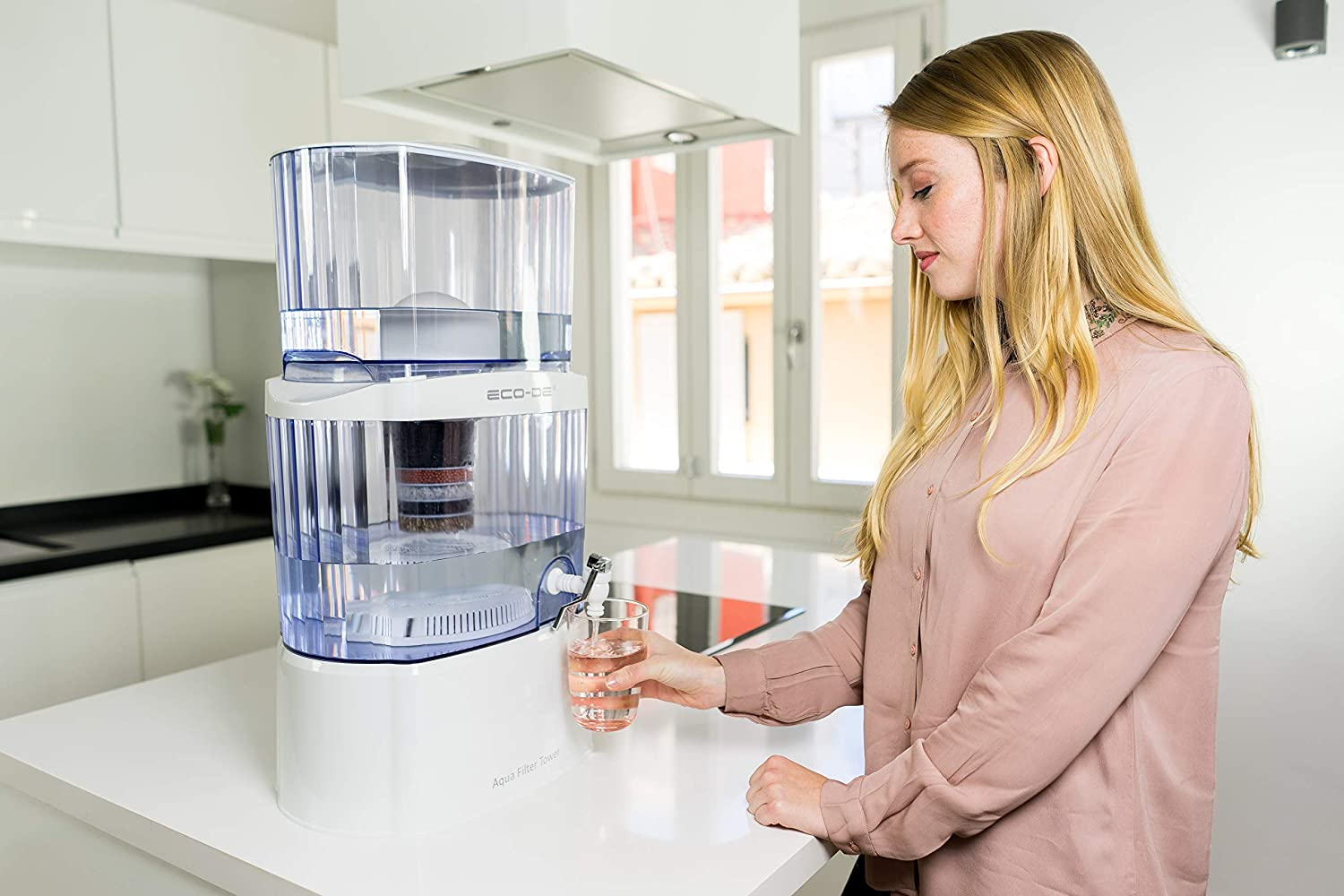 Aqua Filter Tower - Water Fountain with ECO-DE® filter and Purifier CX3150