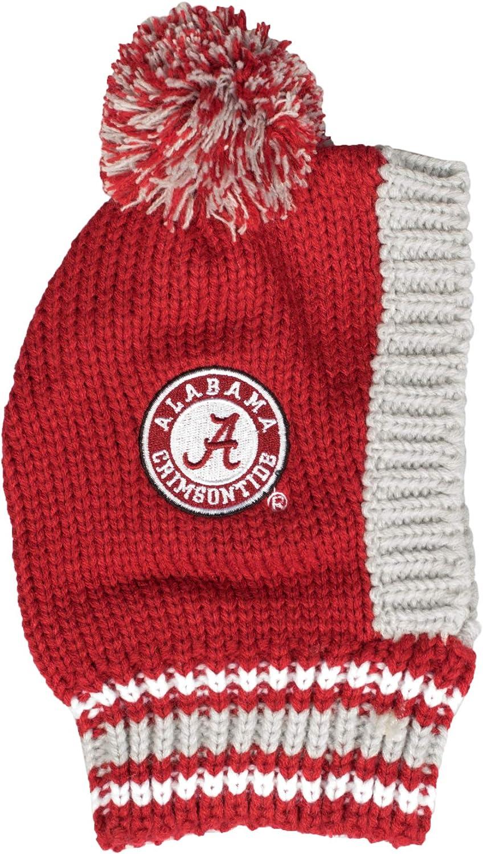 Large Littlearth NCAA Alabama Crimson Tide Team Pet Knit Hat