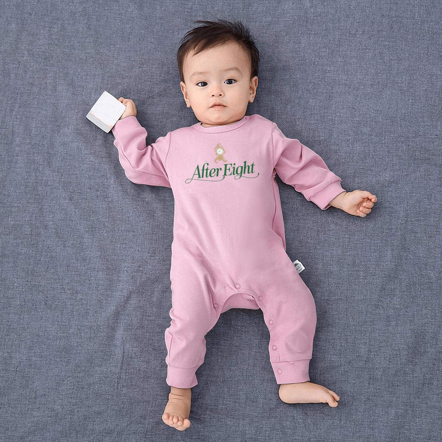 NAKHFBVi Outback-Steakhouse-Logo-Sign Baby Boys Girls Long Sleeve Baby Onesie Cute Baby Clothes