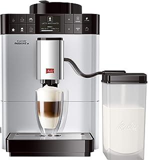 Melitta Caffeo CI Touch F630-101 Kaffeevollautomat mit Milchsystem I Flüsterleises Mahlwerk I Touch Funktion I 1,8l Wassertank I silber: Amazon.es: Hogar