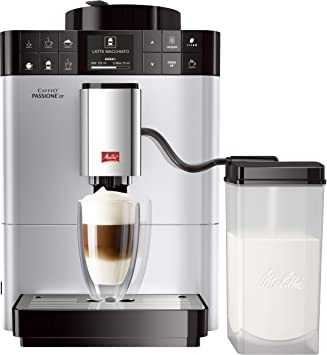 Melitta Máquina de Café Automática Caffeo Passione OT (Plata) F 531-101, 1040 W, 1.2 litros, Acero Inoxidable: Amazon.es: Hogar