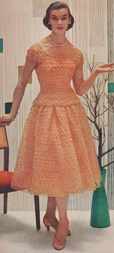 Amazon Vintage Crochet Pattern To Make Lace Formal Evening