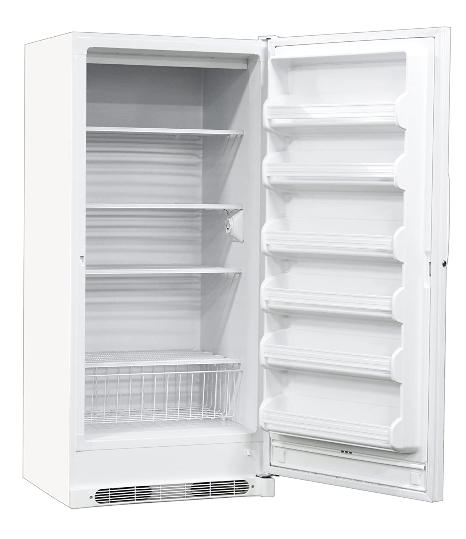 "Nor-Lake Scientific LF201WWW/0 White Upright Auto Defrost Freezer, 115V, 60Hz, 20.3 cu ft Capacity, 32"" W x 70-3/8"" H x 30-3/4"" D, -10 to -20 Degree C"