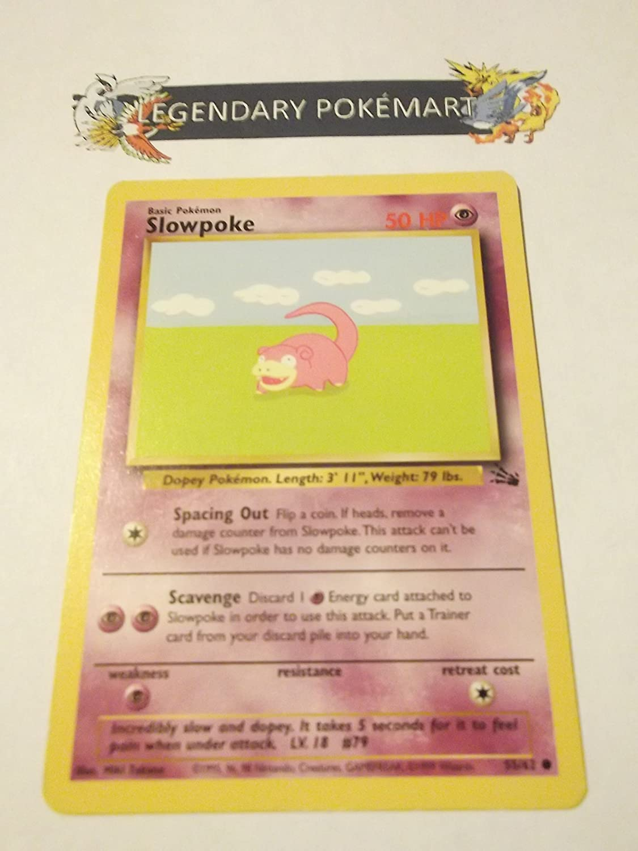 Pokemon Fossil Slowpoke - Common - 55/62