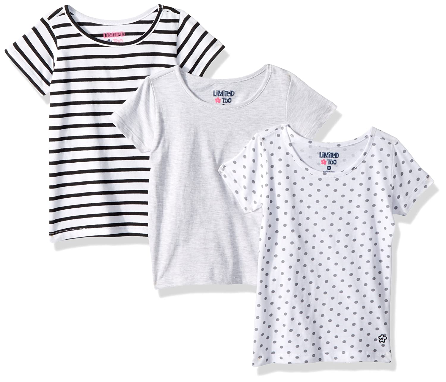 Limited Too Girls 3 Pack T-Shirt