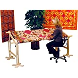 Amazon Com Dritz 28 By 39 Inch Quilters Floor Frame