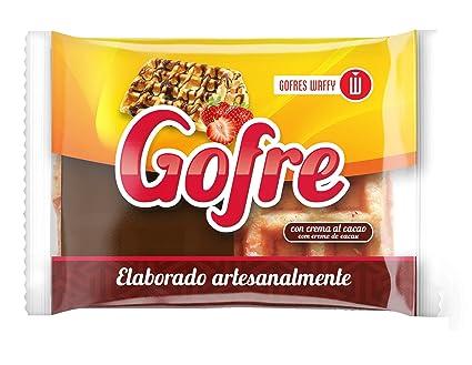Waffy Gofre con Crema de Cacao - 140 gr: Amazon.es: Alimentación y bebidas