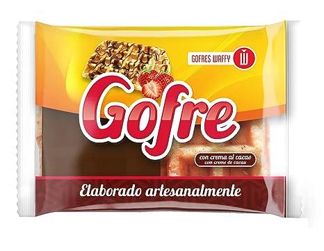 Waffy Gofre con Crema de Cacao - 140 gr