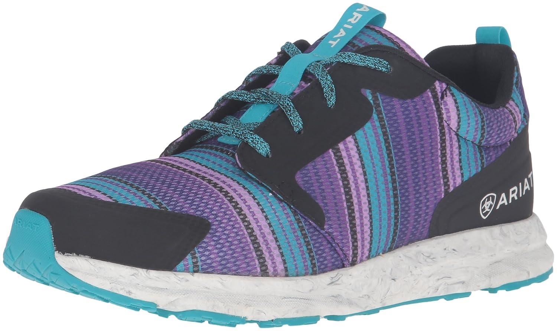 Ariat Women's Fuse Athletic Shoe B01D3NLIK6 9.5 B(M) US|Purple Serape Mesh