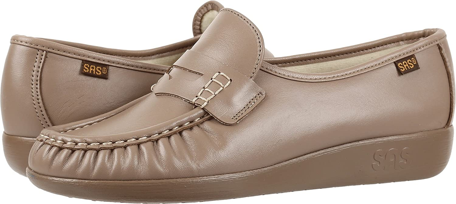 SAS Women's Classic Slip on B00AIR9KCE 8.5 WW - Double Wide (D) US|Mocha