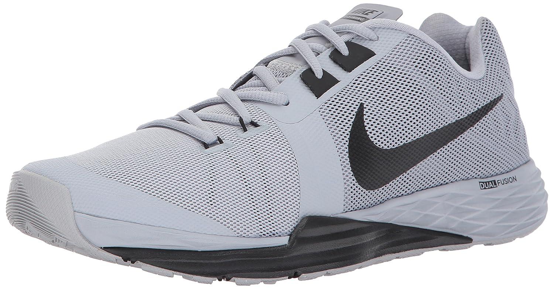 NIKE Men's Train Prime Iron DF Cross Trainer Shoes B001PDRQQM 8 D(M) US|Wolf Grey/Black/White