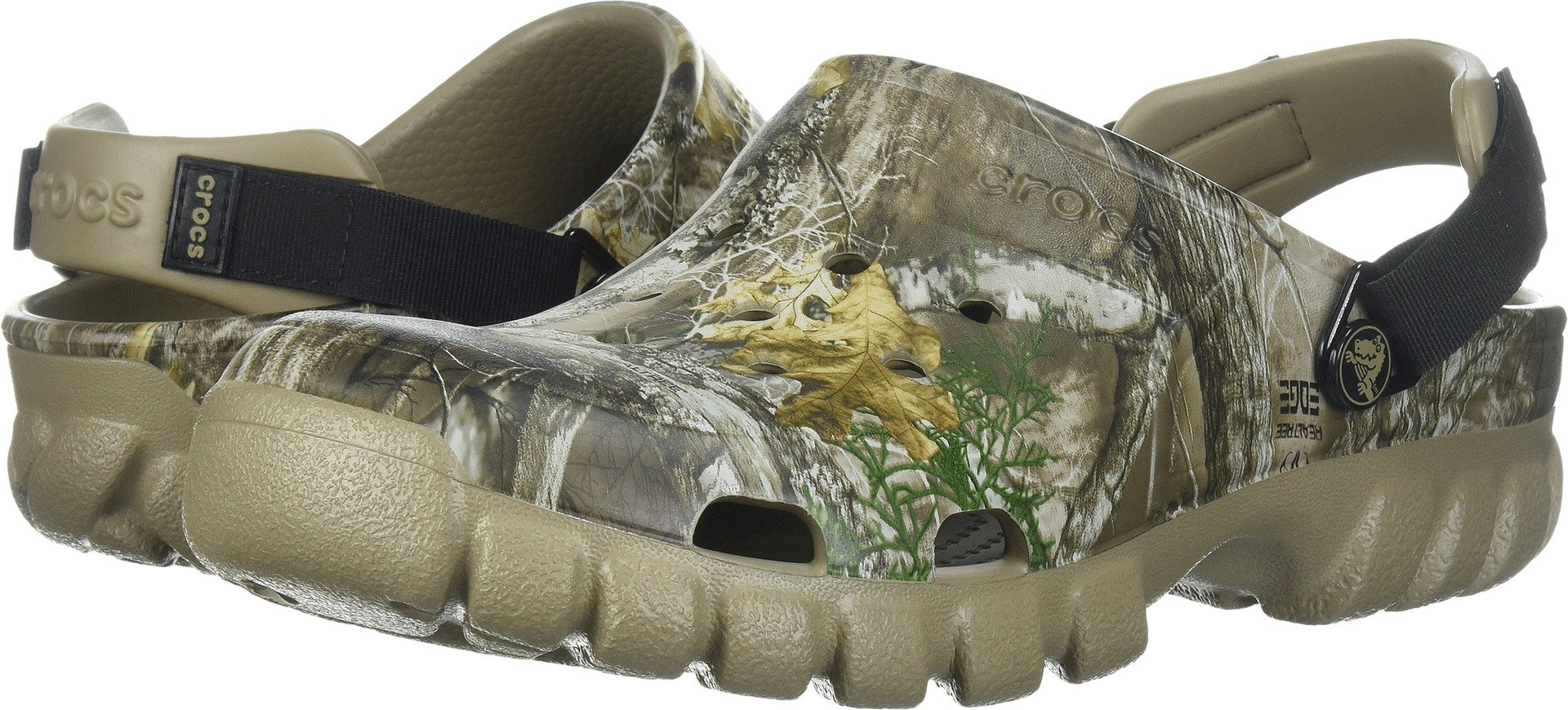 Crocs Offroad Sport Realtree EDG CLG Clog, Khaki, 8 US Men/10 US Women M US by Crocs