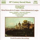 Missa pastoralis en sol majeur / Missa solemnis en do majeur
