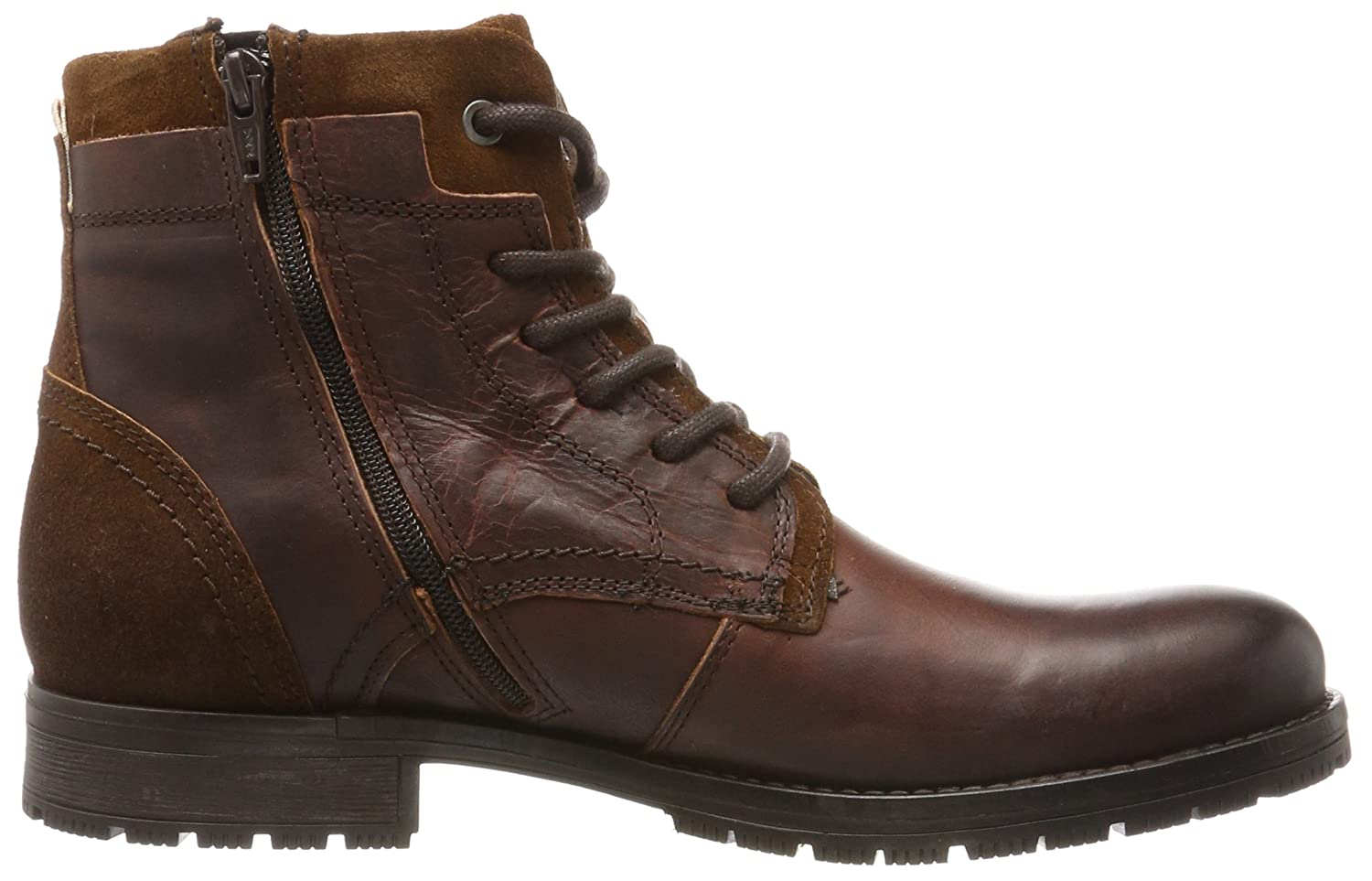JACK & Stiefel JONES Herren Jfwhanibal Leather Brown Stone Klassische Stiefel & Braun (Brown Stone) f57bdf