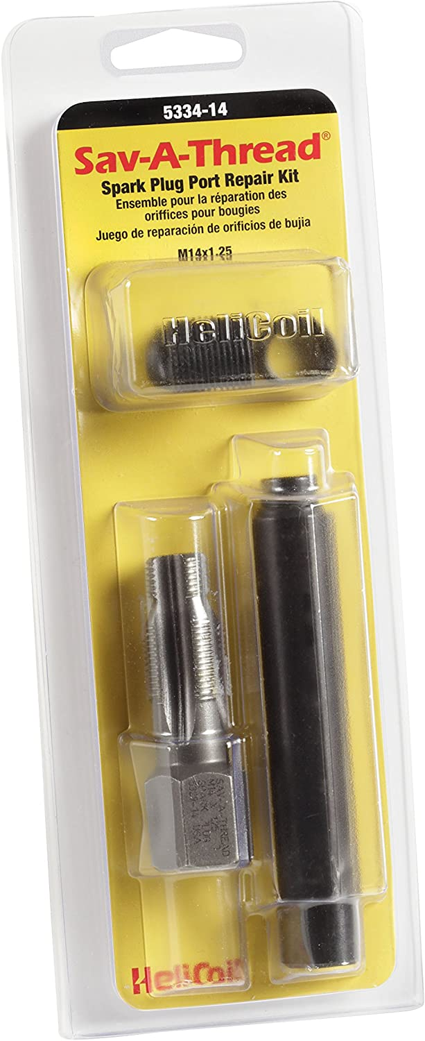 Amazon Com Helicoil 5334 14 Save A Thread Thread Repair Kit M14 X 1 25 Automotive