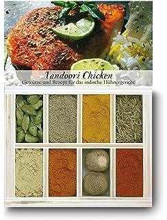 Feuer & Glas Tandoori Chicken, Receta para Pollo Hindú con Especias, ...
