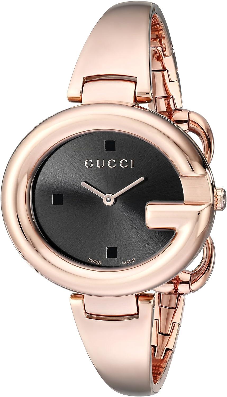 Gucci YA134305 - Reloj para Mujer, de Color Negro
