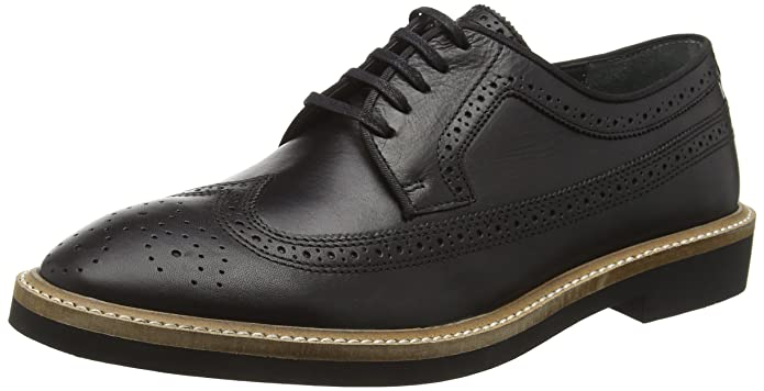 Haig, Brogues Homme, Noir (Black Leather BB), 41 EUFrank Wright
