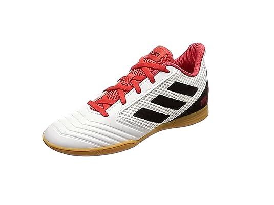 buy popular 676e2 a57e8 Adidas Predator Tango 18.4 Sala J, Zapatillas de fútbol Unisex Adulto,  Blanco (Ftwbla