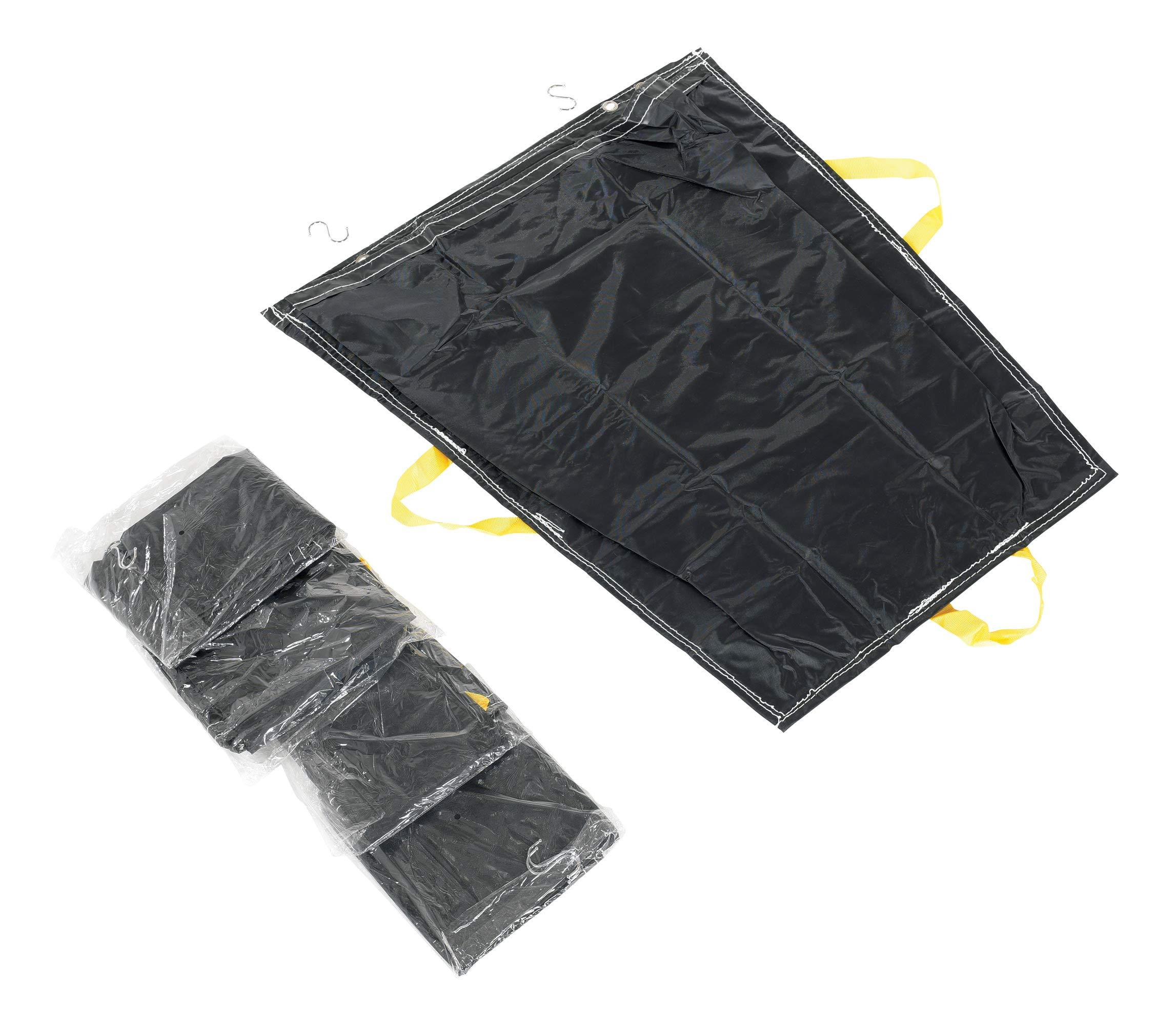 Vestil PRTD-TB-BK-5PK Pallet Rack Trash Bag, Black (Pack of 5)