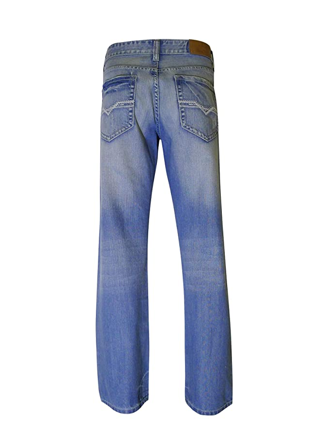 ff64041ee Flypaper Men's Fashion Bootcut Blue Jeans Regular Fit Mens Work Pants at  Amazon Men's Clothing store: