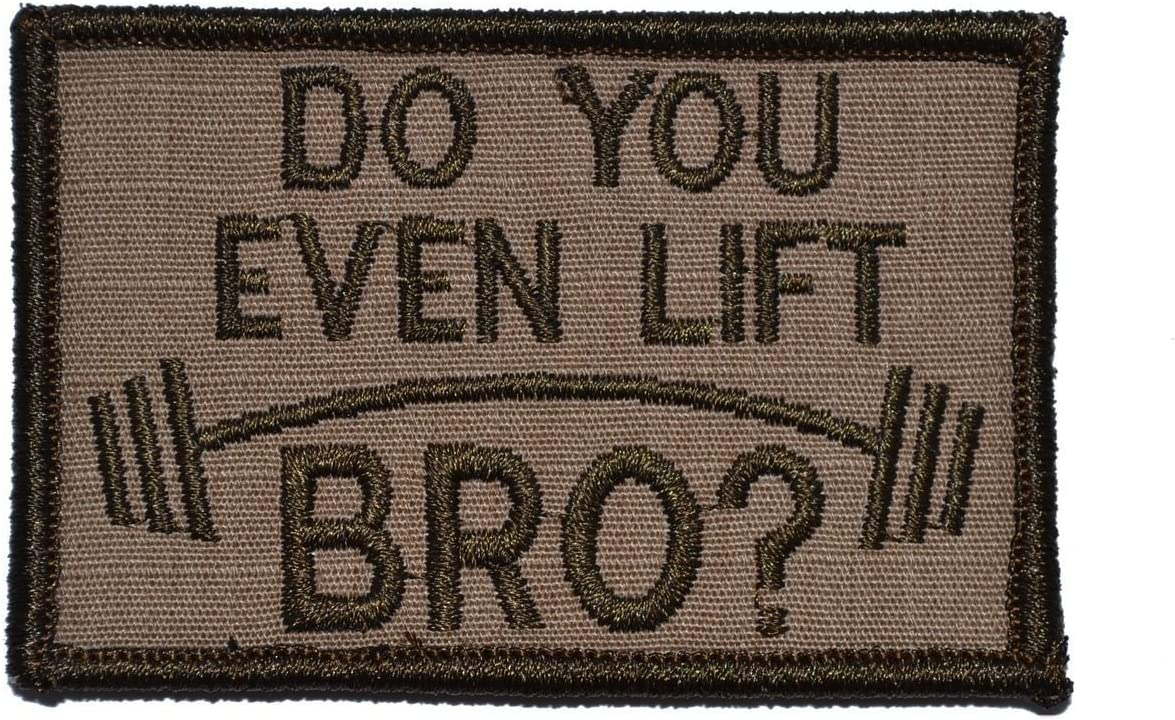 Do You Even Ride Bro iron on Sew on Patch 4.0 INCH