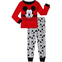 Disney Mickey Mouse Toddler Boys 2 Piece Sleepwear Pajama Set
