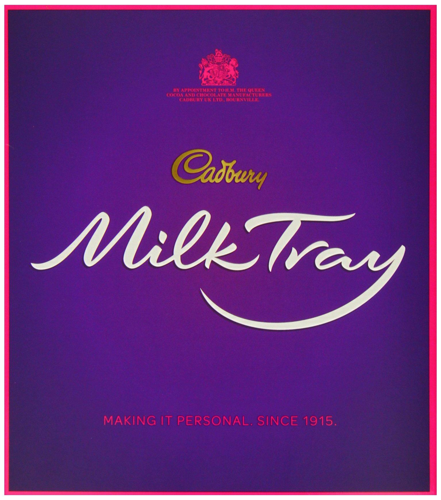 Cadbury Milk Tray Chocolate Selection Box 360 g (Pack of 3)