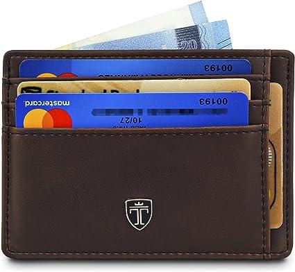 Portafoglio porta carte di credito portafogli in metallo LF