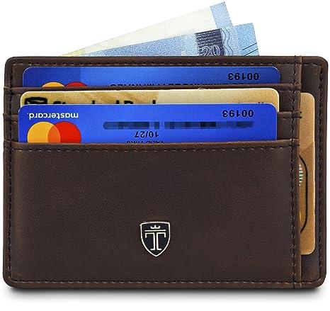 """fa1ac125cb TRAVANDO ® Portafoglio uomo """"MACAO"""" Porta carte di credito, Portafogli  slim con"""