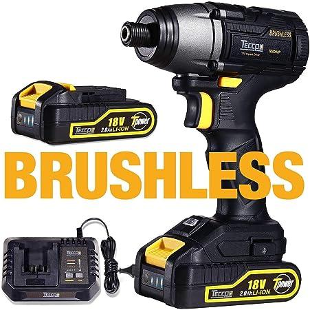 Motore Brushless In Scatola,780Nm Caricatore Rapido,Mandrino Metallico Autoserrante Utensili Elettrici,Trapano Avvitatore a Impulsi Attacco a Batteria