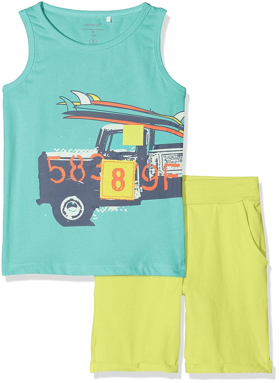 Name It Boy's Nmmvilhelm Tank Top Set D Clothing 13155751