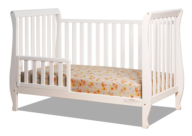 amazon com athena naomi 4 in 1 crib with toddler rail cherry