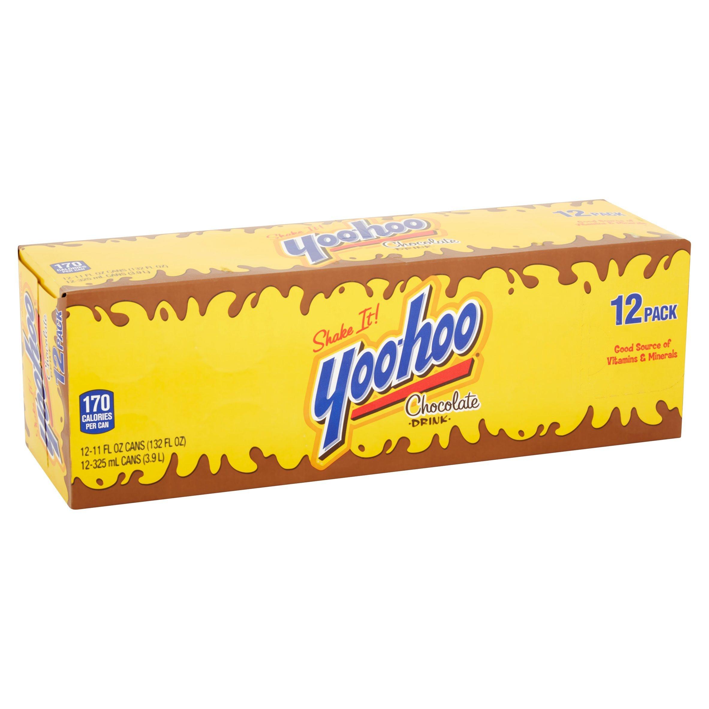 Yoo-Hoo Chocolate Drink, 11 oz (pack of 12)