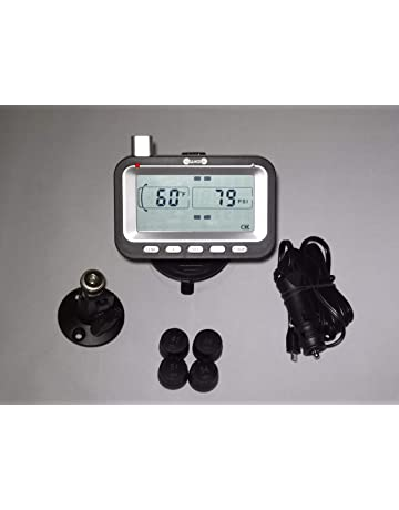 Bellacorp Tire Pressure Monitoring System TPMS (4) Sensors for Fifth Wheel, Car,