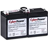 CyberPower RB1270X2A Replacement Battery Cartridge, Maintenance-Free, User Installable