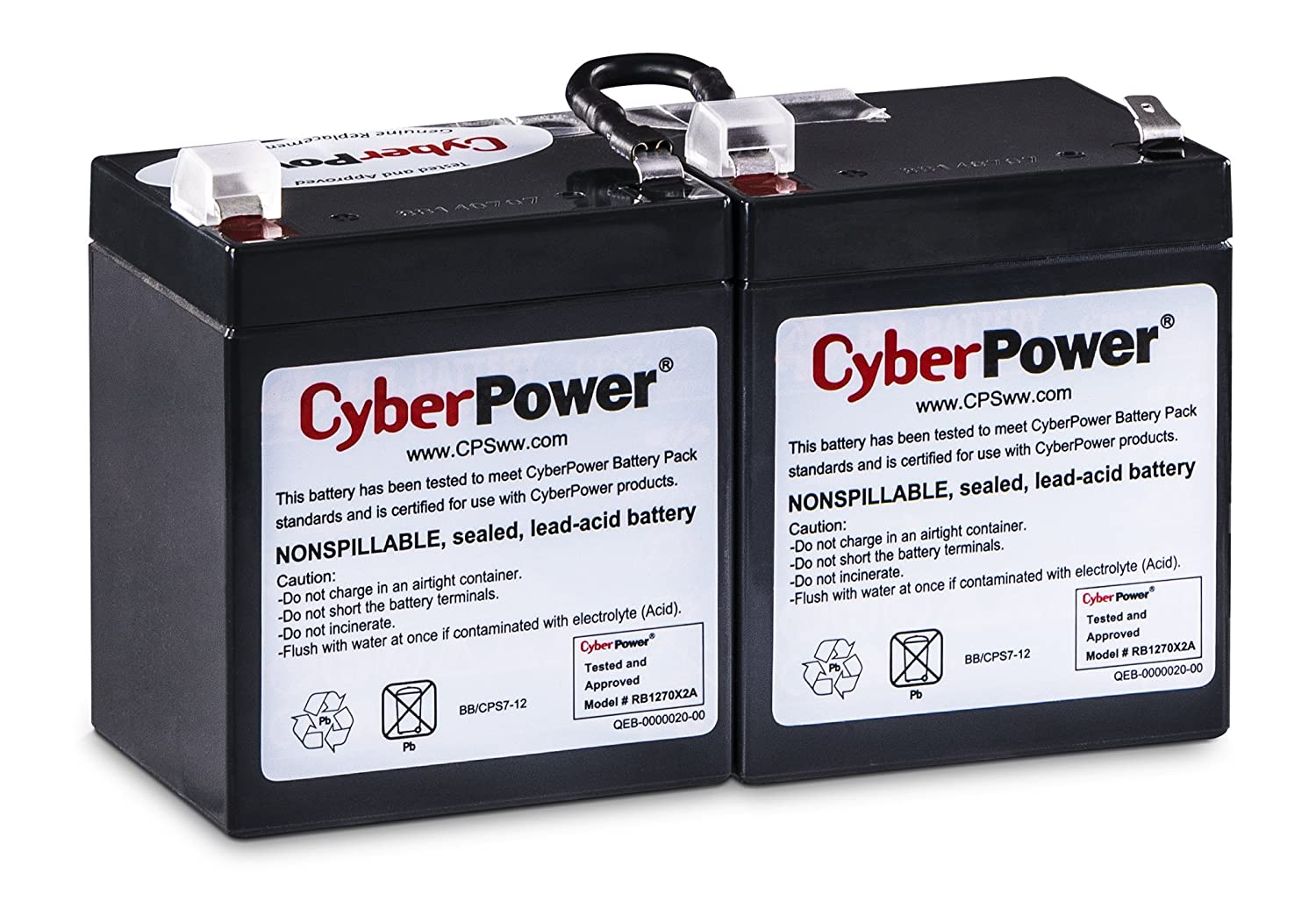 CyberPower RB1270X2A UPS Replacement Battery Cartridge Cyber Power CA